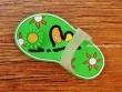 Imán para nevera - Modelo ZAPATILLA SOL (color verde)