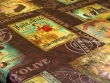 Mantel Antimanchas de Poliéster - Modelo ACEITE DE OLIVA - Chocolate