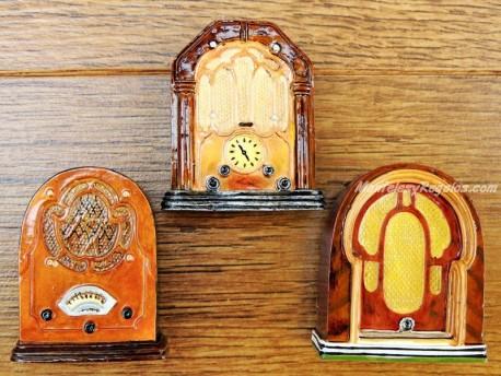 Imanes de nevera - Modelo RADIOS ANTIGUAS (3 modelos diferentes)