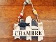 Cartel náutico Chambre para puertas - 18 cm.