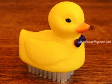 Limpia uñas - Modelo PATO - Amarillo