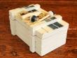 Caja decorativa marinera - 10,5 cm.