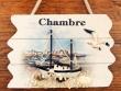 Placa marineras para puertas - 14 cm. (Modelo Chambre)