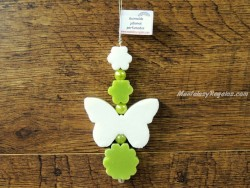 Guirnalda de jabones - Modelo MARIPOSA - 19 cm.