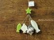 Guirnalda de jabones y caracola - 22 cm.