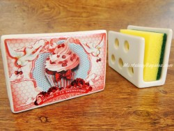 Guarda-esponjas de cerámica - Modelo GOURMANDISE