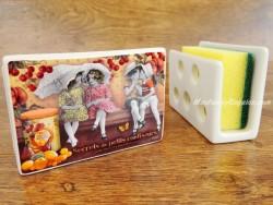 Guarda-esponjas de cerámica - Modelo PETITS CONFISEURS