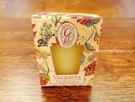 Vela perfumada con aroma VALENCIA