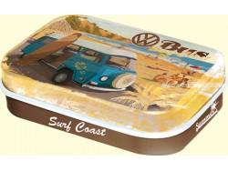 Caja metal caramelos mentolados - W BUS SURF COAST de Nostalgic-Art