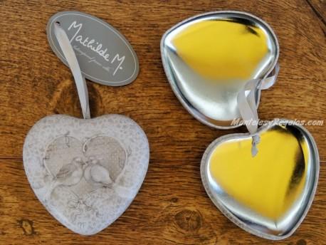 Caja Corazón - Modelo AMOUR D´OISEAUX de Mathilde M