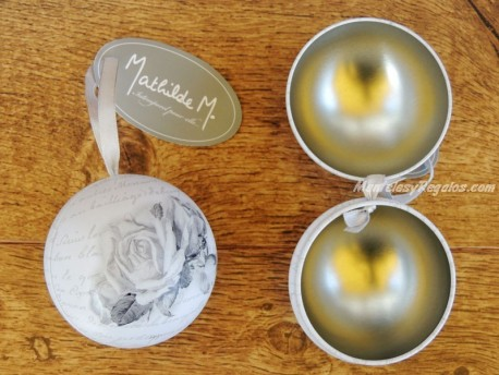Bola decorativa - Modelo ROSAS de Mathilde M