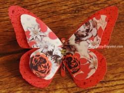 Mariposa decorativa con clip - Modelo PREMIER FRIMAS