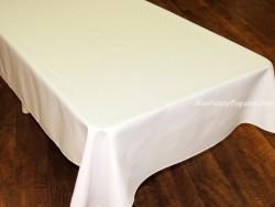 Mantel Antimanchas de Poliéster - Modelo LISO - Blanco