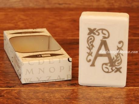 Jabón perfumado - Letra A