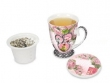 Taza de té de 3 piezas (foto modelo estándar)