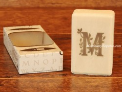 Jabón perfumado - Letra M