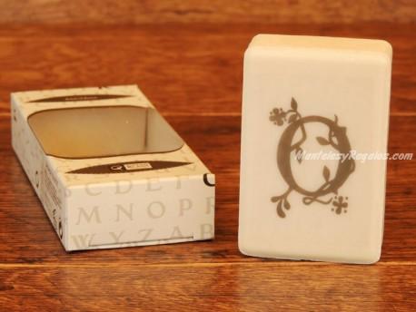 Jabón perfumado - Letra O