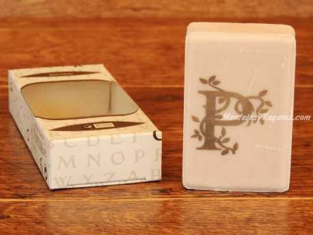 Jabón perfumado - Letra P