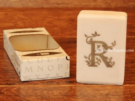 Jabón perfumado - Letra R