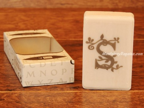 Jabón perfumado - Letra S