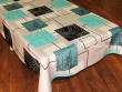 Mantel Antimanchas de Poliéster - Modelo WINDOWS - Azul