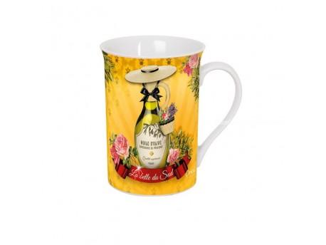 Taza de cerámica decorada - Modelo LA BELLE DU SUD