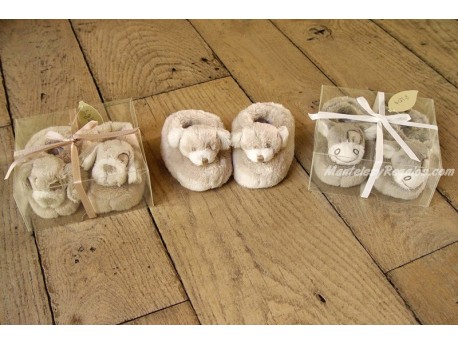 Zapatitos de peluche para bebé (3 modelos diferentes para elegir)