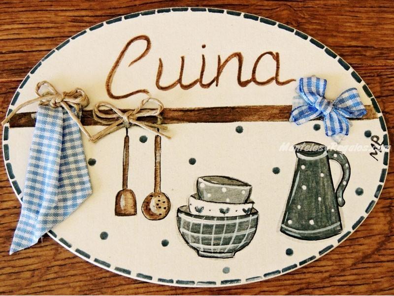 Placa para puerta cocina fondo blanco marfil - Placa de cocina ...
