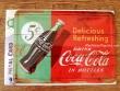 Postal metálica COCA-COLA IN BOTTLES de Nostalgic-Art