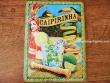 Placa metálica CAIPIRINHA - 15 x 20 cm. de Nostalgic-Art