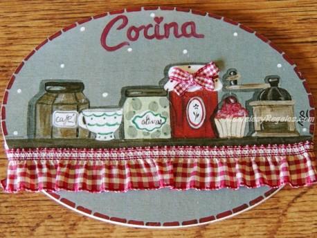 Placa para puerta cocina alacena (Cocina)