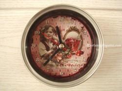 Reloj Imán - Modelo CONFITURE DE CERISE