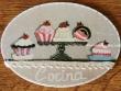 Placa para puerta cocina pasteles (Cocina)