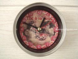 Reloj Imán - Modelo THÉ À LA ROSE