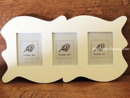 Portafotos para colgar modelo OLAS DEL MAR - 46 cm.