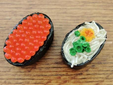 Imanes decorativos nevera - Modelo SUSHI (2 modelos para elegir)