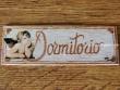 Placa para puerta dormitorio angelito (Dormitorio)