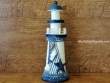 Faro marinero de madera - 23 cm. (Modelo Faro con estrella)