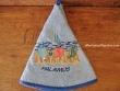 Paño de cocina redondo - Modelo HAMACAS PALAMÓS - Azul