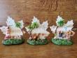 Figura marinera decorativa modelo Hoja - 9 cm. (3 modelos diferentes para escoger)