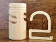 Soporte de madera para ambientador de armario