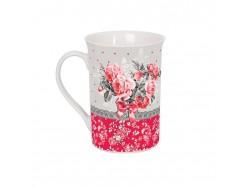 Taza cerámica decorada - Modelo ROSES BOUQUET