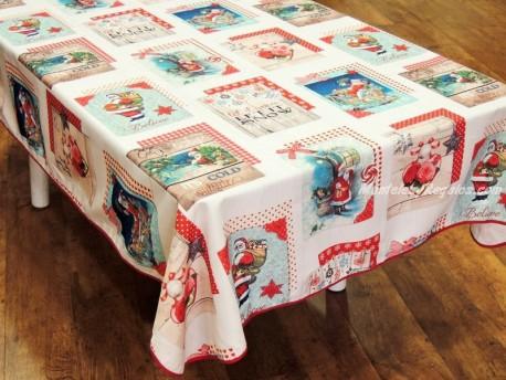 Mantel de Navidad modelo NAVIDAD P05 - Beige
