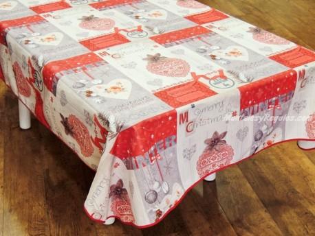 Mantel de Navidad modelo NAVIDAD P07