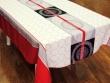 Mantel Antimanchas - Modelo CÍRCULOS RED - Gris