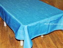 Mantel Antimanchas - Modelo LISO - Azul fuerte