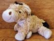 Peluche burro MARCEL (color marrón)