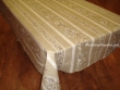 Mantel de Algodón Plastificado - Modelo UZÉS - Lino