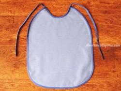 Babero adulto - Modelo 1 COLOR - Azul