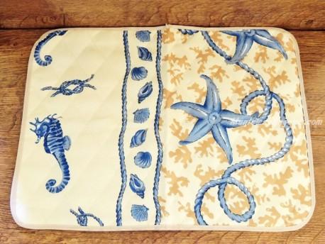 Mantel individual Antimanchas - Modelo MARINERO - Crema